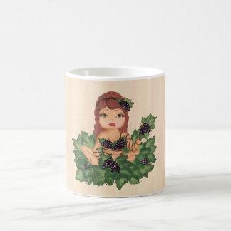 Quantum Cutie Grape Vine Girl Coffee Mug