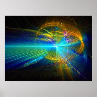 Quantum Fracture -2007 Print
