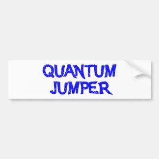 quantum jumper autoaufkleber