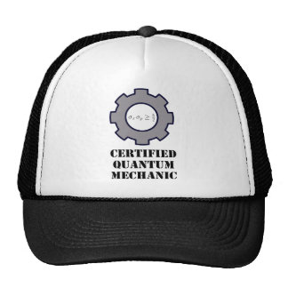 quantum mechanic, uncertainty principle mesh hat