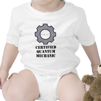quantum mechanic, uncertainty principle t-shirts