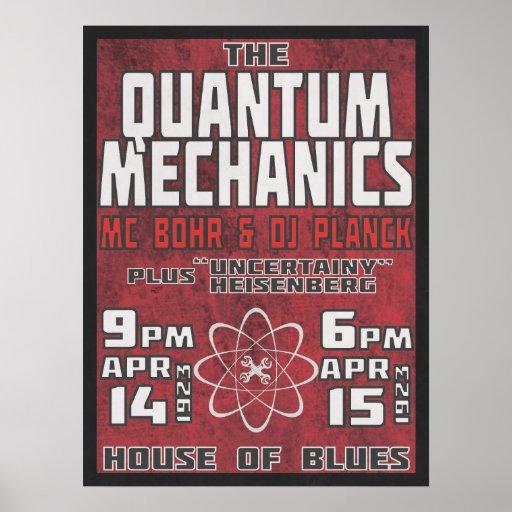 Quantum Mechanics @ House of Blues Posters