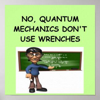 QUANTUM mechanics Poster