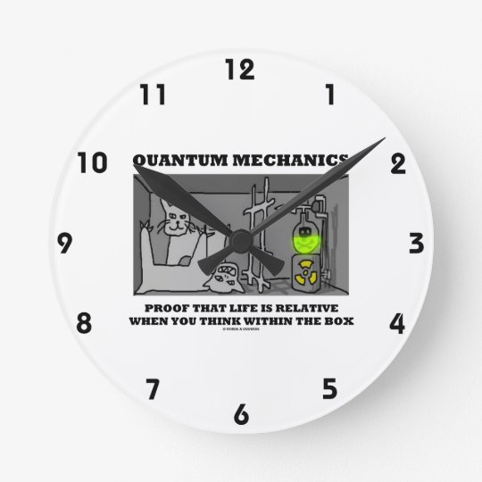 Quantum Mechanics Proof That Life Is Relative Round