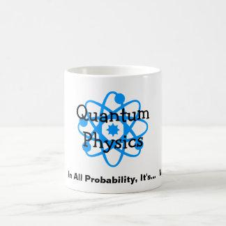 Quantum Physics Basic White Mug
