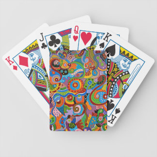 Quantum Strands Bicycle Playing Cards