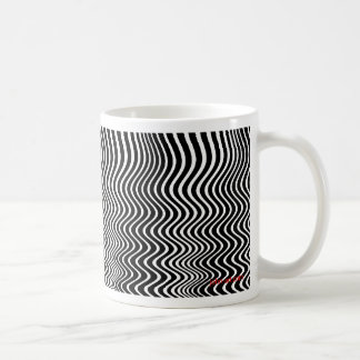 quantum waves basic white mug