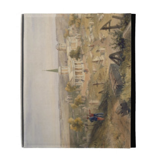Quarantine Cemetery and Church, plate from 'The Se iPad Folio Covers