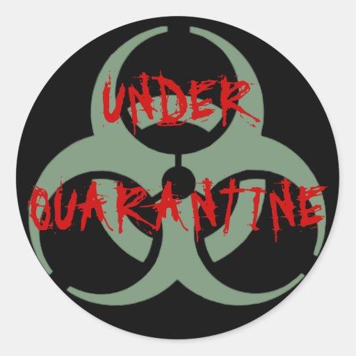 Quarantine Sticker