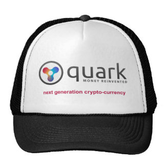 Quark Crypto Currency Hat | Quarkcoin