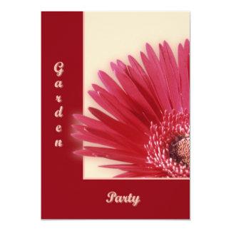 "Quarter Daisy 5"" X 7"" Invitation Card"