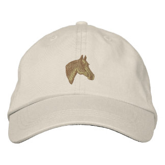 Quarter Horse Head Embroidered Hat