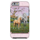 Quarter Horse Mare and Foal Pink Tough iPhone 6 Case