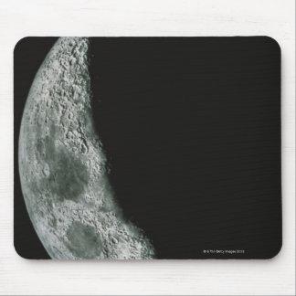 Quarter Moon Mouse Pad