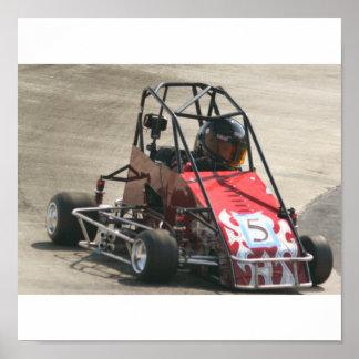 quarter racer poster