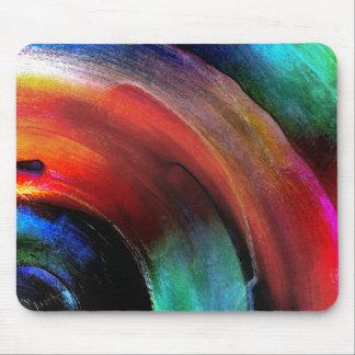 Quarter Round Colors Mouse Mat