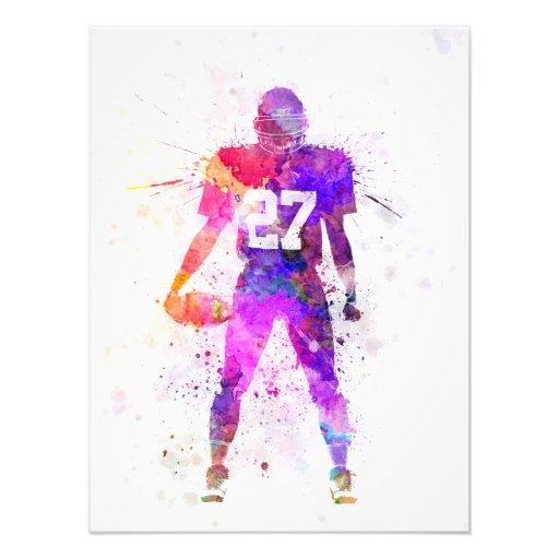 quarterbacks american football to player man