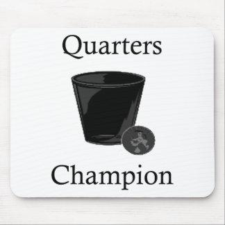 Quarters Champion Mouse Pad