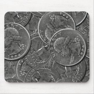 Quarters pad mouse pad