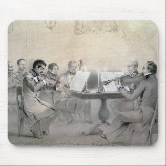 Quartet of the Composer Count A. F. Lvov, 1840 Mouse Mat