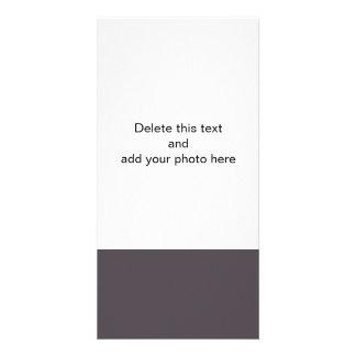 Quartz Quality Solid Colored Custom Photo Card