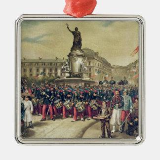 Quatorze Juillet, 1881 Christmas Ornament