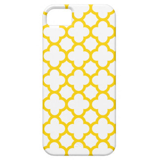 Quatrefoil iPhone 5/5S Case \ Freesia Yellow