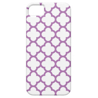 Quatrefoil iPhone 5/5S Case \ Radiant Orchid