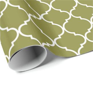 Quatrefoil Wrapping Paper