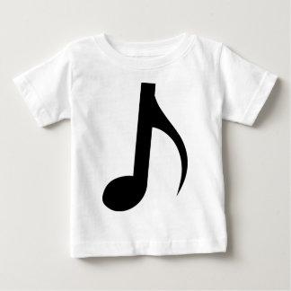 Quaver Musical Note Baby T-Shirt