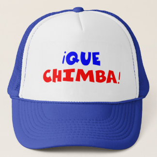 QUE CHIMBA TRUCKER HAT