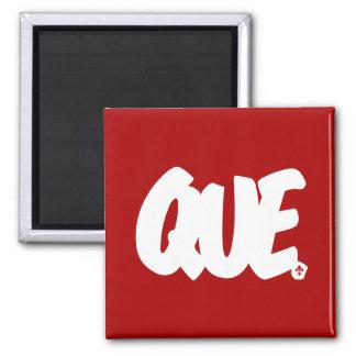 QUE Letters Magnet