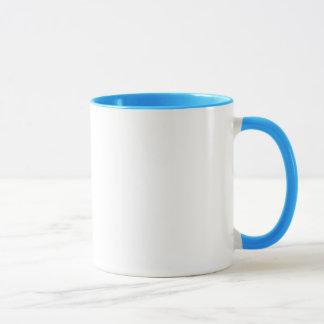 QUE Letters Mug