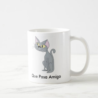 Que Pasa Cat Mug