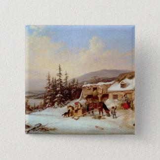 Quebec 15 Cm Square Badge