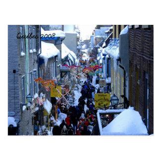 Quebec 2008 postcard