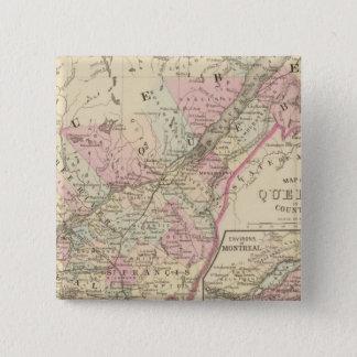 Quebec 2 15 cm square badge