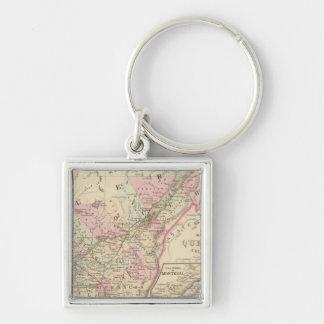Quebec 2 key ring