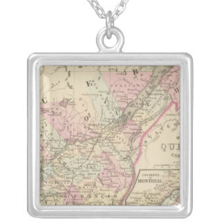 Quebec 2 silver plated necklace