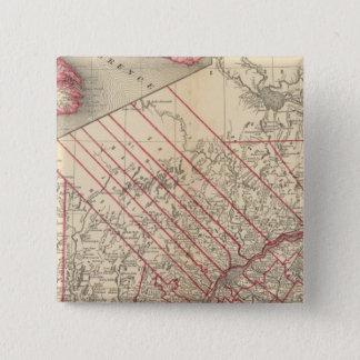 Quebec 3 15 cm square badge