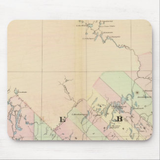Quebec 3 mouse mat