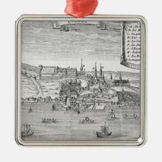 Quebec, after La Potherie Christmas Ornament