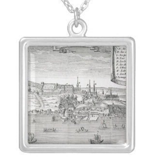 Quebec, after La Potherie Silver Plated Necklace
