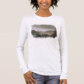 Quebec and the St. Lawrence River, plate 4 from 'L Long Sleeve T-Shirt