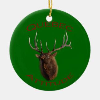 Quebec Attitude Christmas Ornament