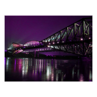 Quebec Bridge Poster
