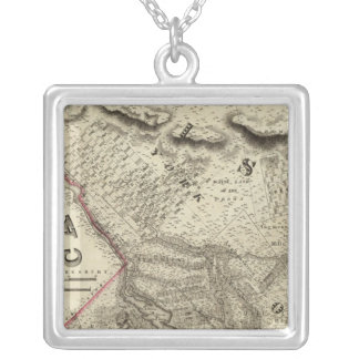 Quebec, Canada 2 Silver Plated Necklace