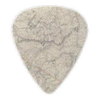 Quebec, Canada 3 Acetal Guitar Pick