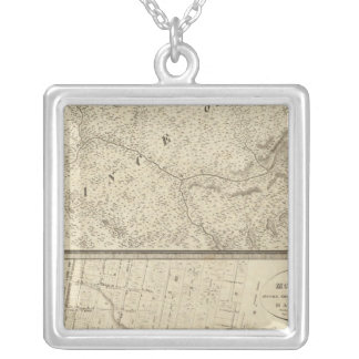 Quebec, Canada 4 Silver Plated Necklace