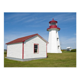 Quebec Canada Cap D Espoir Lighthouse Postcard